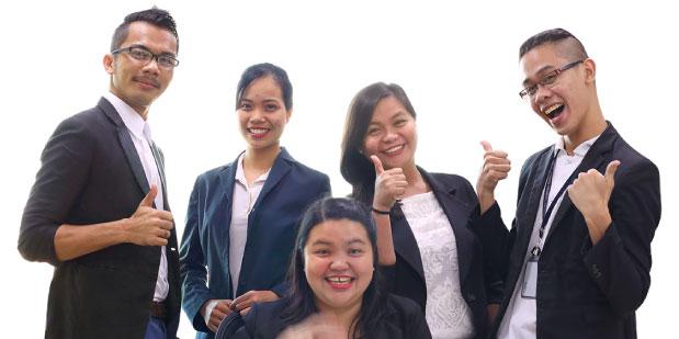 フィリピン人講師5名